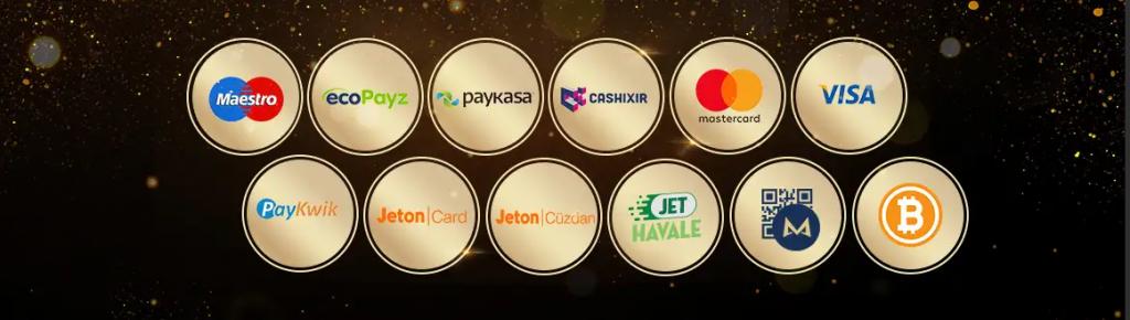 Casino Metropol'deki Para Yatırma ve Para Çekme Metotları