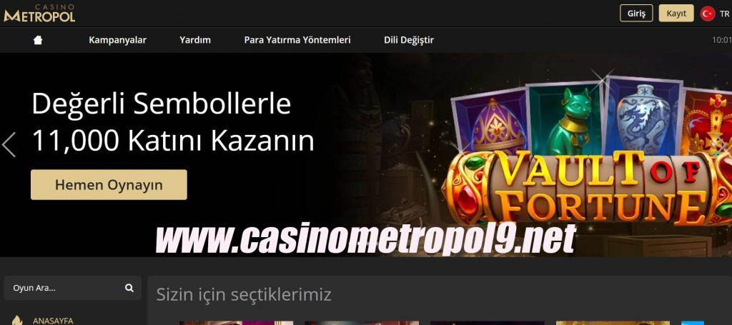 Online Casino Casino Metropol